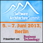 Software Architecture Summit 2013