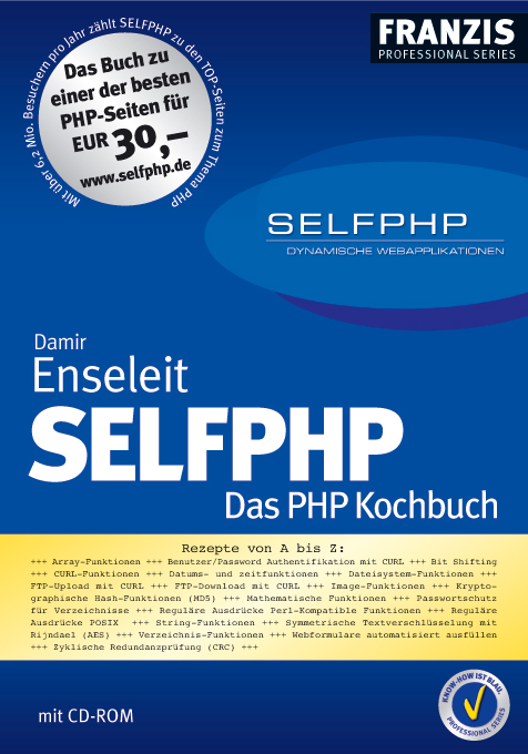 SELFPHP - DAS PHP KOCHBUCH